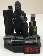 Godzilla (Crashing through the city) | Figures & Toy Soldiers
