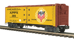 40%2527 steel sided reefer car agar meat packing co. model trains %2528rolling stock%2529 cd6beecd 6586 4f09 a422 5e740e11a137 medium