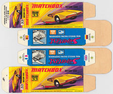 Matchbox Miniatures Picture Box - I Type - Datsun 126 X | Collectible Packaging