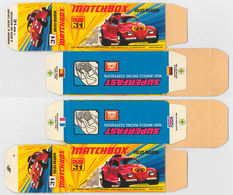 Matchbox Miniatures Picture Box - I Type - Volks-Dragon | Collectible Packaging