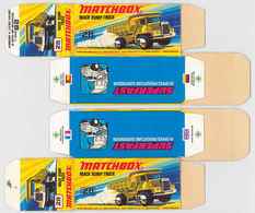 Matchbox Miniatures Picture Box - I Type - Mack Dump Truck | Collectible Packaging