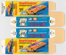 Matchbox Miniatures Picture Box - I Type - Lamborghini Countach | Collectible Packaging