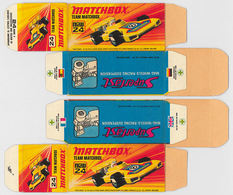 Matchbox Miniatures Picture Box - I Type - Team Matchbox | Collectible Packaging