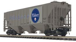 O scale premier ps 2cd high sided hopper car pillsbury 6758 model trains %2528rolling stock%2529 cfa84708 c1b6 4b49 8e69 51d8197a5522 medium