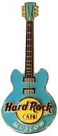 Core 3D Guitar - Light Blue | Pins & Badges