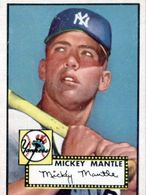 1952 Topps Mickey Mantle (Type 1)   Sports Cards (Individual)