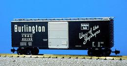 Chicago%252c burlington%252c and quincy 40%2527 boxcar 62199 model trains %2528rolling stock%2529 fc849f32 9f0c 4148 9868 dbd3930d669e medium