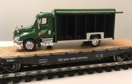 Freightliner mountain dew delivery truck on flatcar model trains %2528rolling stock%2529 44f1bcea cb73 486e b2c9 aca75e291ff0 medium