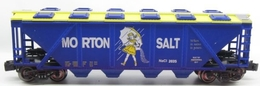 Morton salt covered hopper model trains %2528rolling stock%2529 a67390f4 87c3 4726 ae1d 543427bec23e medium