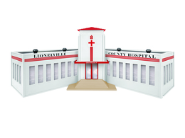 Lionelville Hospital | Model Buildings and Structures