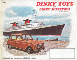Dinky Toys Catalog 1962 (French) | Brochures & Catalogs | Front