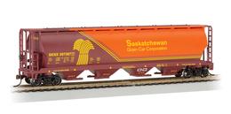 saskatchewan grain car corp 4 bay cylindrical hopper 397387 model trains %2528rolling stock%2529 2b45ba5e bb3a 4c90 8e04 5507e23da651 medium