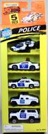 Police 5-Pack | Model Vehicle Sets