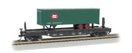 B and o 52%2527 flatcar 8966 w%252f35%2527 railway express agency trailer model trains %2528rolling stock%2529 47b4db2b ada8 4efb ab29 dcf5a112f8fe medium