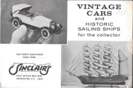 Vintage Cars and Historic Sailing Ships | Brochures & Catalogs