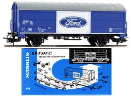 Ford Boxcar Kit | Model Train Kits (Rolling Stock)