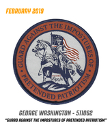 5.11 Tactical - February 2019 Of The Month - 511062 | Uniform Patches | 5.11 Tactical - February 2019 Of The Month - 511062