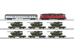 Freight Train With Military Freight For The German Federal Army | Model Train Sets