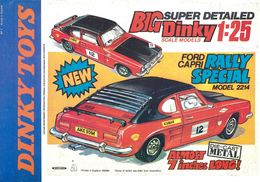 Dinky Ford Capri Rally Special Poster | Posters & Prints