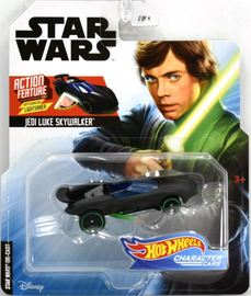 Jedi Luke Skywalker | Model Cars | Hot Wheels Disney Star Wars Jedi Luke Skywalker