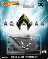 Black Manta Submarine | Model Ships and Other Watercraft | Hot Wheels DC Comics Aquaman Black Manta Submarine