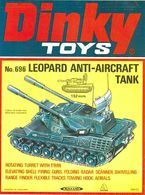 Dinky Toys Leopard Anti-Aircraft Tank Poster | Posters & Prints