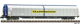High Capacity Sliding Wall Wagon Type Habbiins, Transwaggon | Model Trains (Rolling Stock)