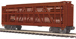 Steel sided stock car   baltimore and ohio model trains %2528rolling stock%2529 9806ee26 0a40 4bec b077 4214c50a5596 medium
