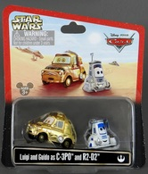Luigi And Guido As C-3PO | Model Vehicle Sets