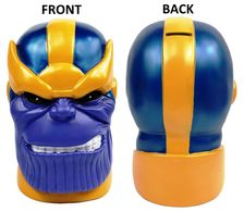 Marvel Heroes Thanos PX Head Bank | Coin Banks | Thanos Bank Front & Back