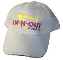 Ball Cap In - N - Out Burger Hat - Pre-owned   Hats   Front
