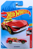 Fast Master | Model Cars | HW 2019 - Collectors # 121/250 - HW Rescue 1/10 - Fast Master - Red - International Long Card