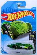 i-Believe | Model Cars | HW 2019 - Collector # 141/250 - HW Space 4/5 - New Models - i-Believe - Green - International Long Card