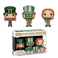 Ginny Weasley, Fred Weasley, & George Weasley (Quidditch World Cup 3-Pack) [ECCC] | Vinyl Art Toys