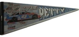 Kyle Petty #42 Coors Light Racing NASCAR Pennant | Flags, Banners & Pennants | Kyle Petty