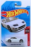 Nissan 300ZX Twin Turbo | Model Cars | HW 2019 - Collector # 110/250 - Nissan 3/5 - New Models - Nissan 300ZX Twin Turbo - White - International Long Card