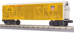 O Gauge Rail King Union Pacific Stock Car 4851D | Model Trains (Rolling Stock)