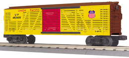 O Gauge Rail King Union Pacific Stock Car 48260D | Model Trains (Rolling Stock)