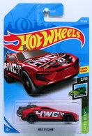 Rise 'N Climb | Model Cars | HW 2019 - Collector # 132/250 - Speed Blur 2/10 - Rise 'N Climb - Red - International Long Card