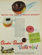 Who's The Tops In Donut Shops? | Print Ads