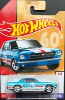 '65 Ford Mustang | Model Cars | 2019 Hot Wheels Retro Throwback 65 Ford Mustang