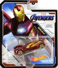 Iron Man | Model Cars | 2019 Hot Wheels Marvel Comics Character Cars Avengers Iron Man