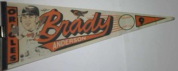 Brady Anderson Orioles Pennant wincraft #115 no date | Flags, Banners & Pennants | Brady Anderson