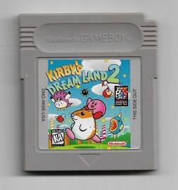 Kirby's Dream Land 2 Gameboy Cartridge   Video Games   Kirby's Dream Land 2 Gameboy Cartridge