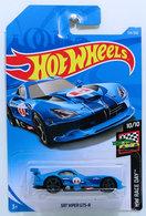 SRT Viper GTS-R | Model Cars | HW 2019 - Collector # 124/250 - HW Race Day 10/10 - SRT Viper GTS-R - Blue - International Long Card