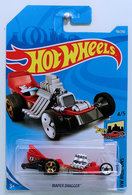 Diaper Dragger | Model Racing Cars | HW 2019 - Collector # 116/250 - HW Ride-Ons 4/5 - Diaper Dragger - Red - International Long Card