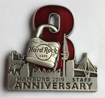 8th Anniversary Rock Shop - Staff | Pins & Badges