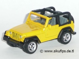 Jeep Wrangler | Model Cars