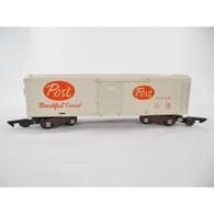 American flyer no. 24058 post cereal boxcar model trains %2528rolling stock%2529 9ecb2ec7 d87a 41fd 8df2 131a5388bd99 medium