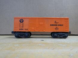 Lionel post war  6024   nabisco %2527shredded wheat%2527 boxcar  model trains %2528rolling stock%2529 827028c7 34ce 4a43 b83d 87ead3d21f93 medium